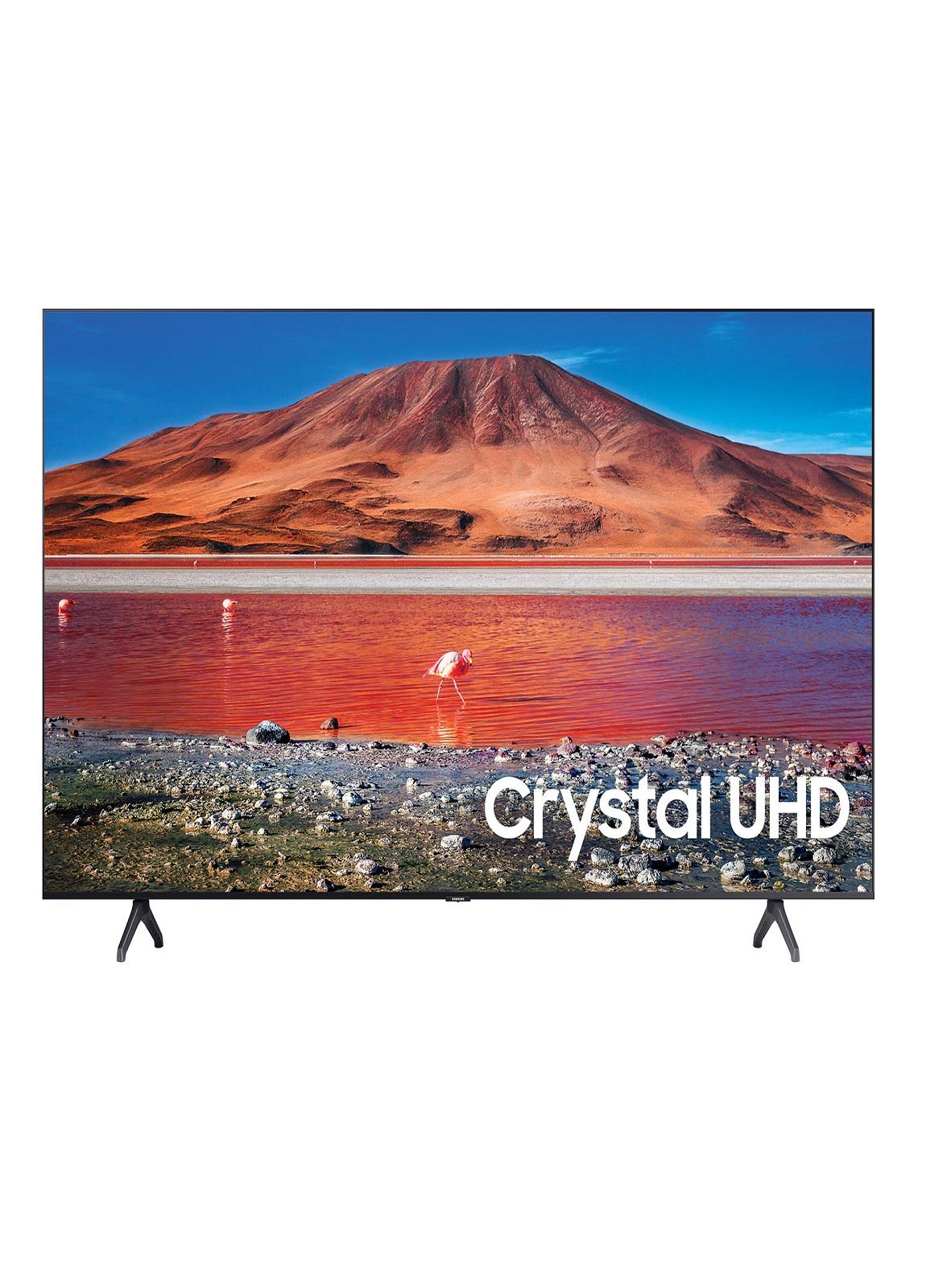 Samsung TU7000 Crystal UHD 4K Smart TV 65 شاشة تلفاز