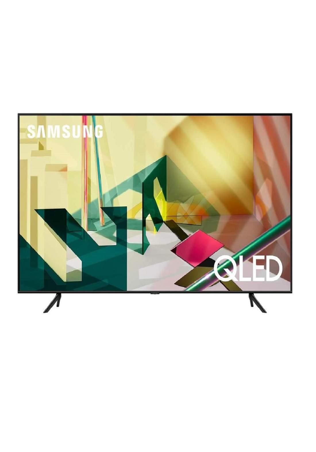 Samsung Q70T QLED 4K UHD HDR Smart TV 65 شاشة تلفاز