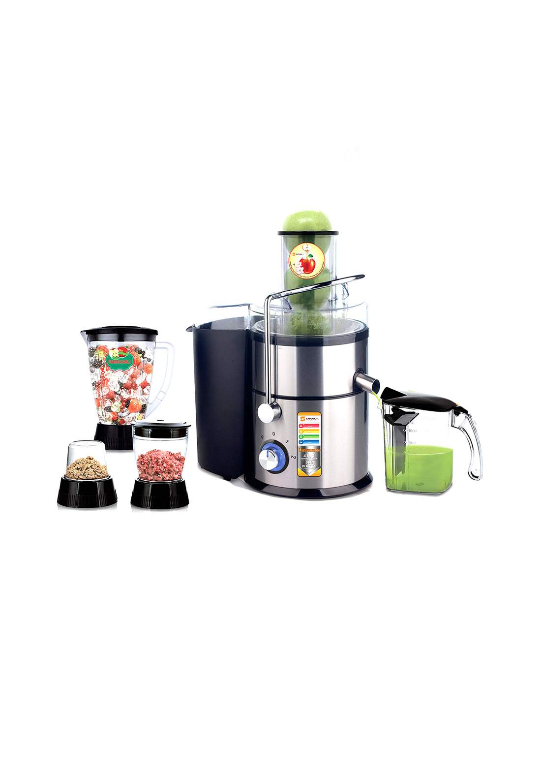 Sayona 4245 Blender & Fruit juicer 800 Watt خلاط و عصارة فواكه