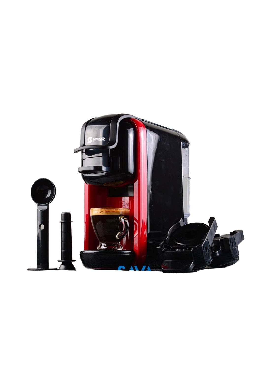 Sayona 4384  Coffee Machine 1450 Watt ماكنة صنع قهوة