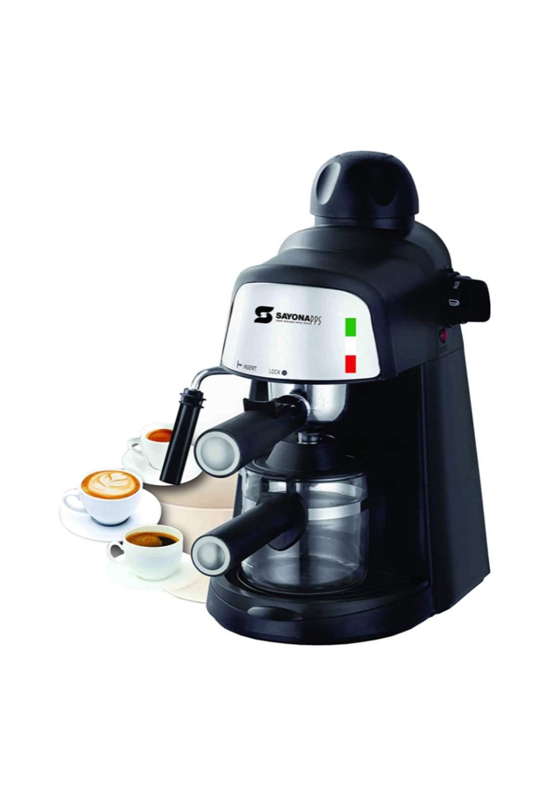 Sayona 4298  Coffee Machine 800 Watt ماكنة صنع قهوة