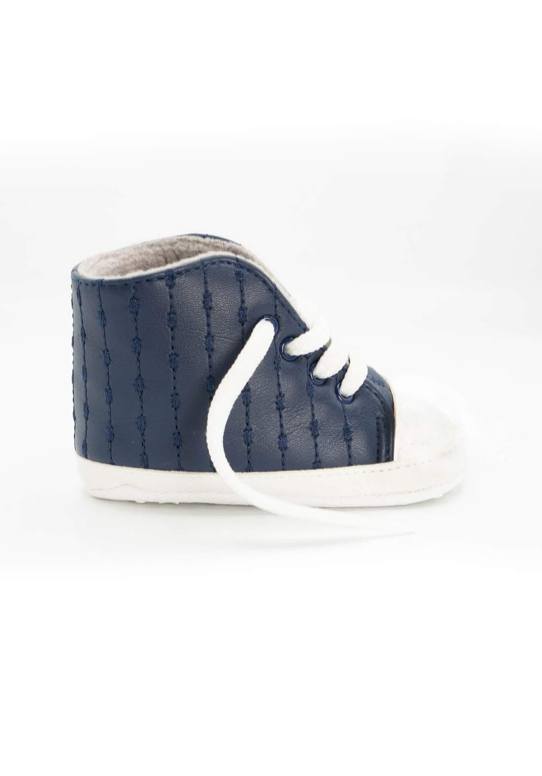 حذاء اطفال نيلي اللون
