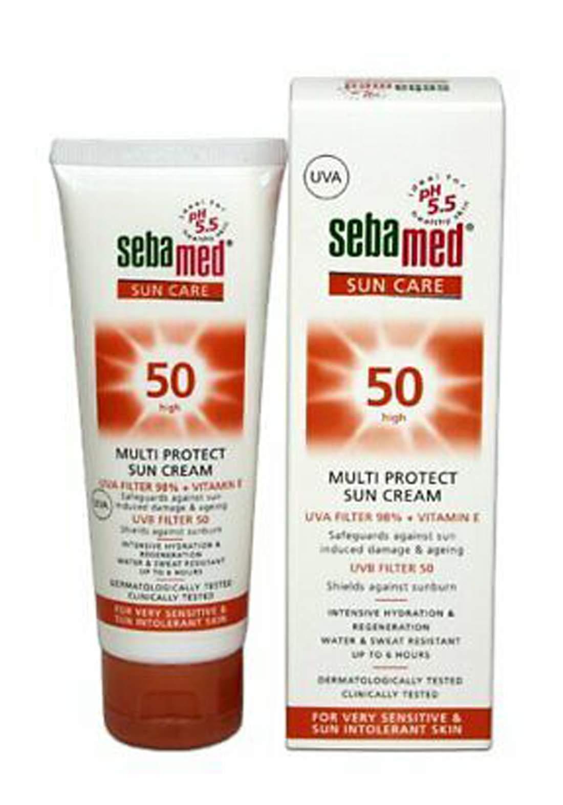 Seba med Sun Cream Spf 50+ 75ml كريم واقي من اشعة الشمس