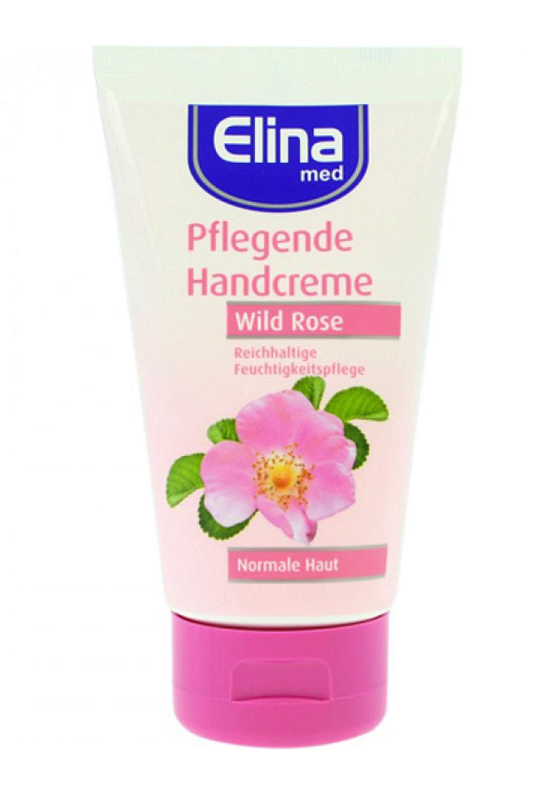 Elina-Med Cream With Wild Rose Extract For Hand And Body 150ml كريم مرطب لليدين والجسم