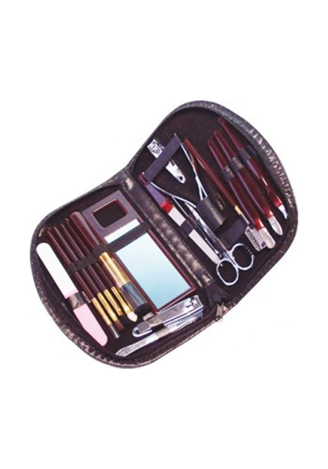 Elina Med Manicure & Nail Care & Makeup Set 18pcs حقيبة عناية