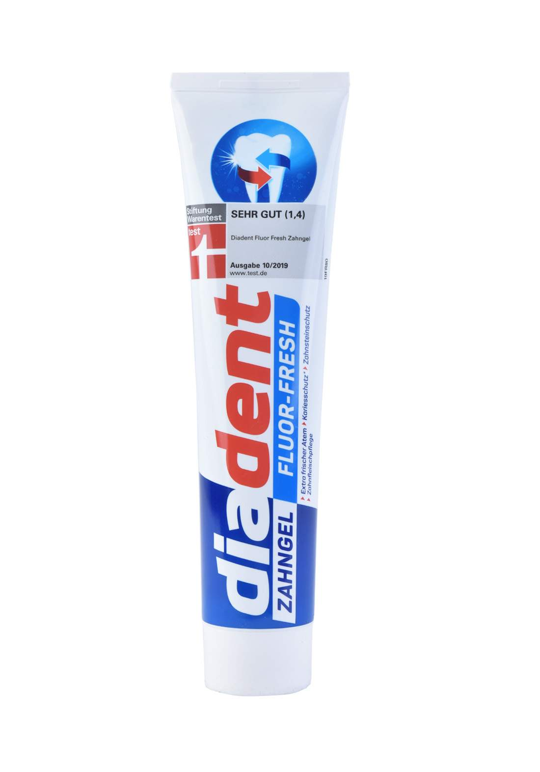 Diadent Fluor Fresh Zahngel 125ml معجون اسنان (الماني اصلي)