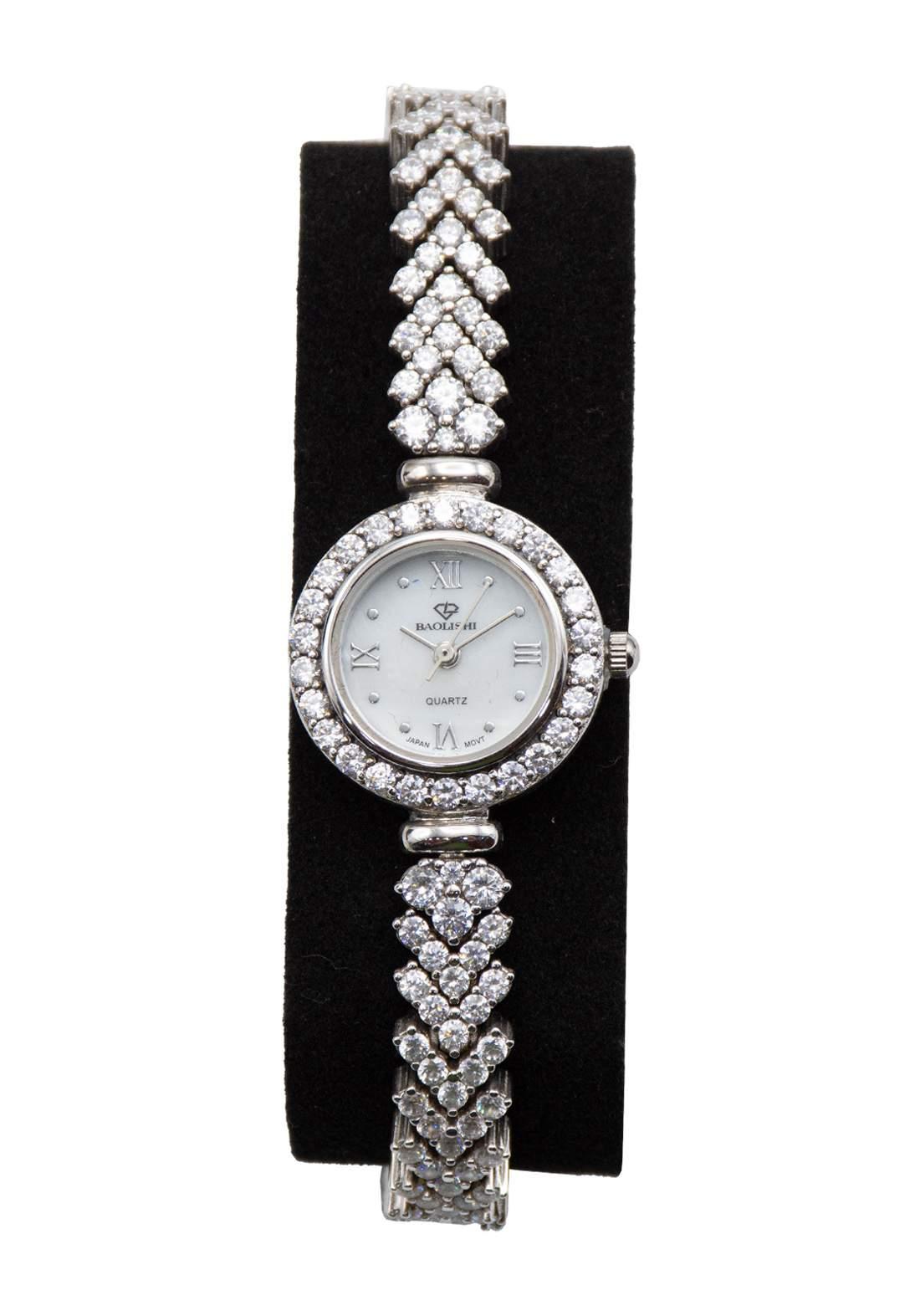 ساعة باوليشي Baolishi نسائية فضة عيار 926