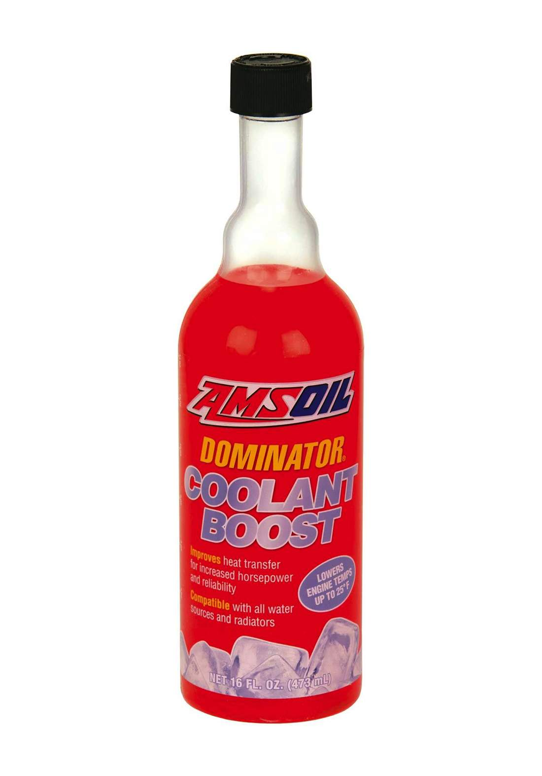 AMSOil Dominator Coolant Boost 473 ml سائل خفض حرارة المحرك