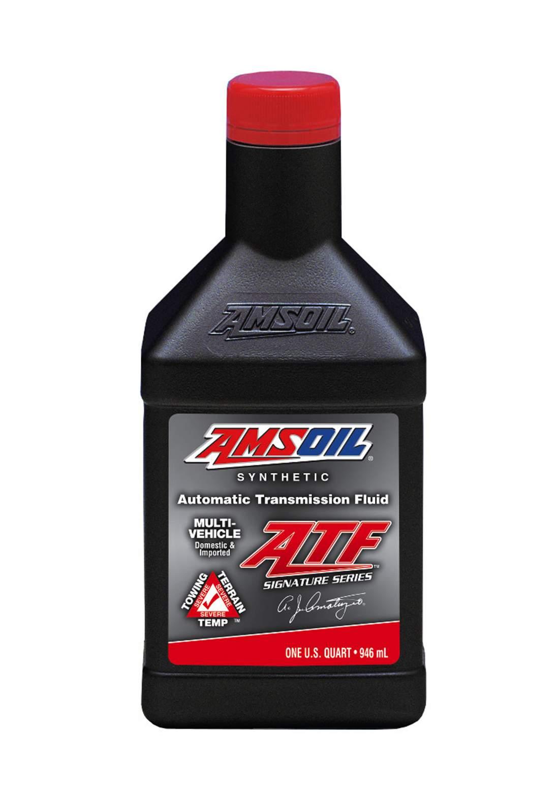AMSOil Automatic Transmission fluid (ATF) 964 ml  زيت ناقل الحر كة الاوتوماتيكي