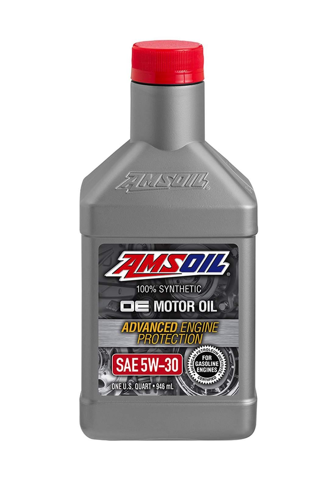 AMSOil 5W-30 Synthetic OE Motor Oil 946 ml زيت المحرك