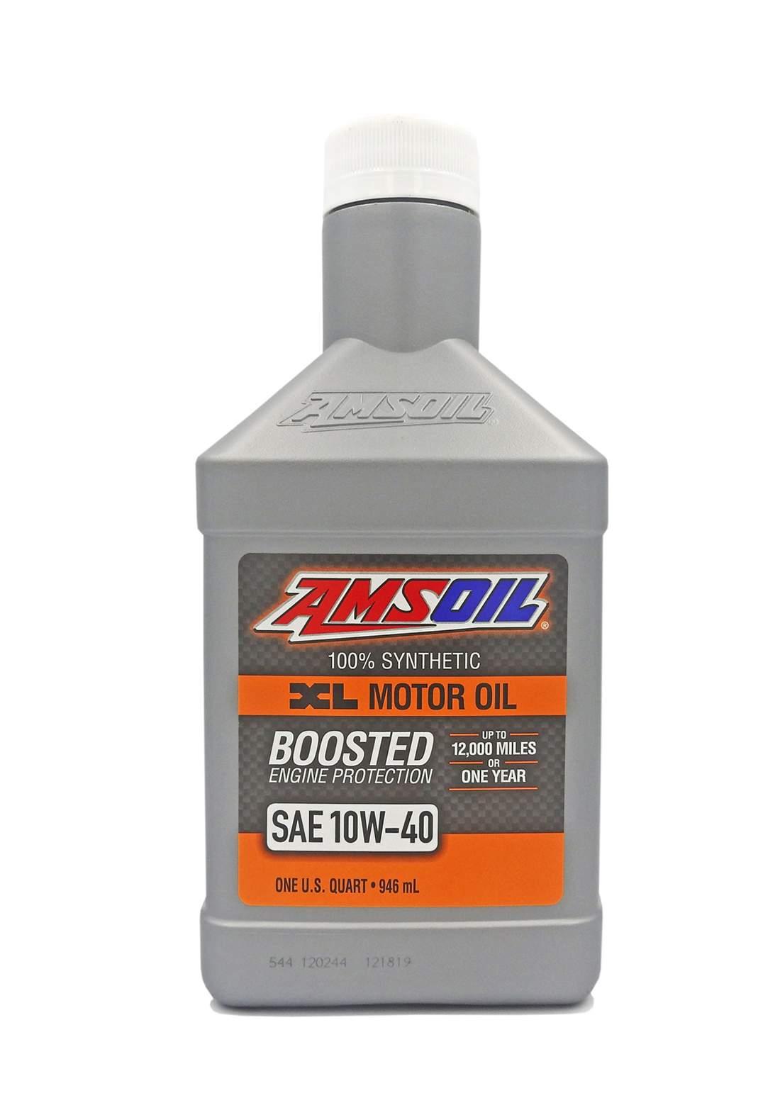 AMSOil 10W-40 Synthetic XL Motor Oil 946 ml زيت محرك