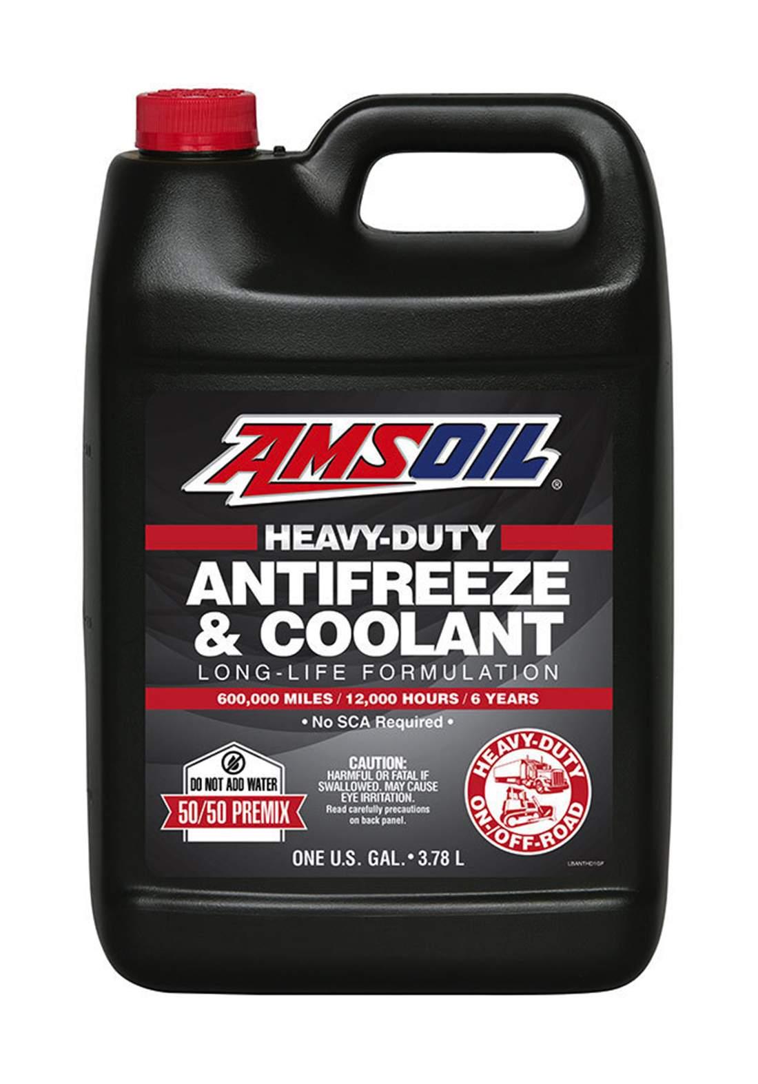 AMSOil Heavy-Duty Antifreeze & Coolant سائل تبريد السيارة