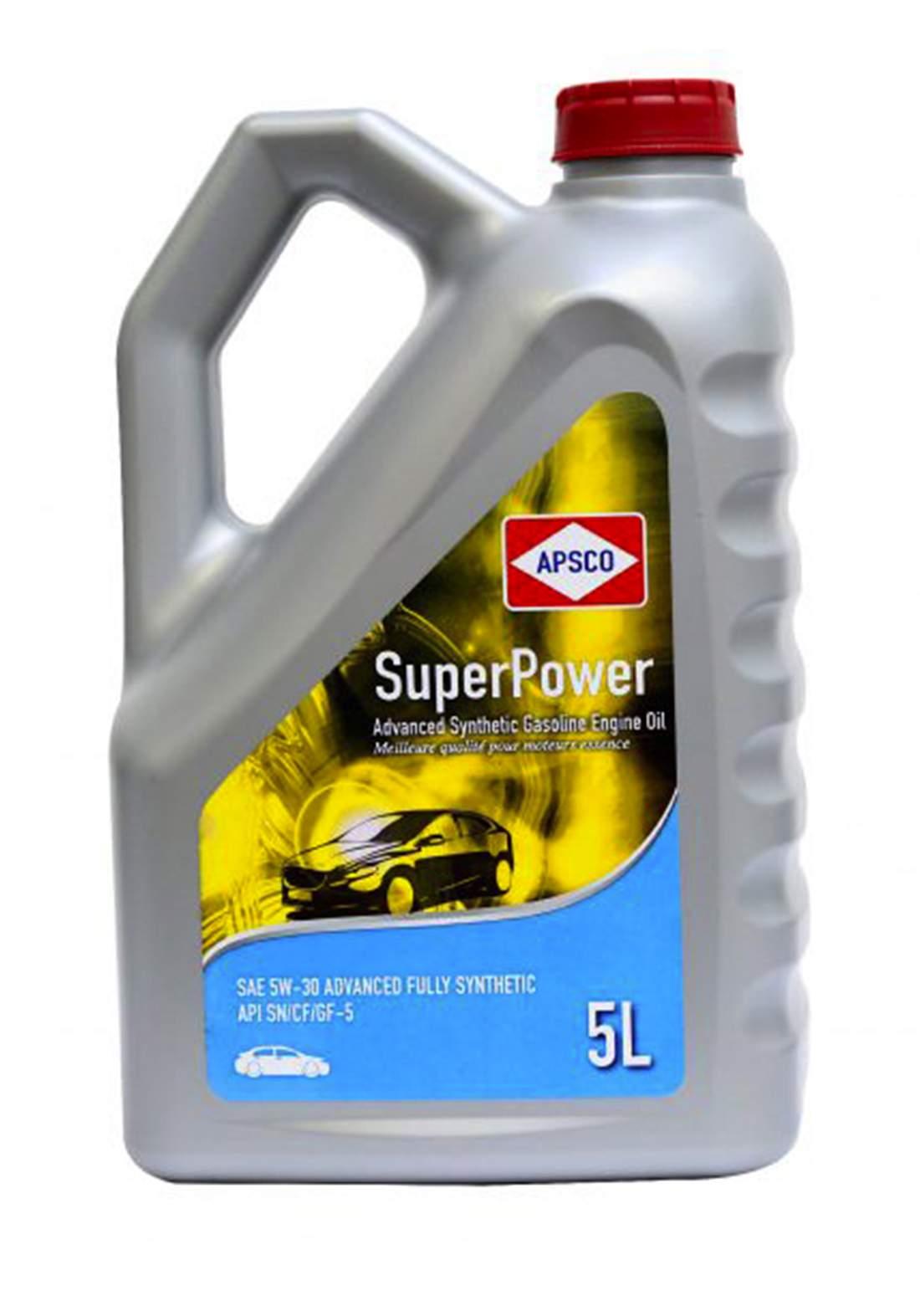 Apcso 20W-50 Synthetic Gasolin Engine Oil 5L  زيت محرك السيارة