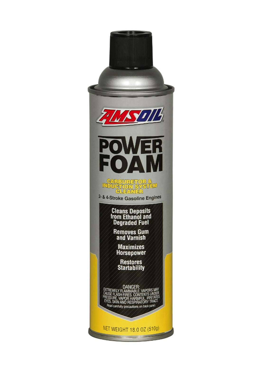 AMSOil Power Foam رغوة تنظيف المحرك