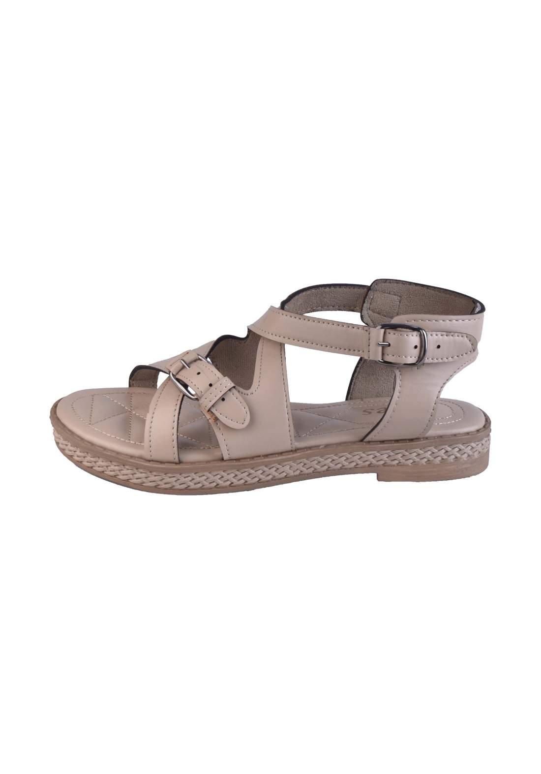 حذاء نسائي بيجي اللون