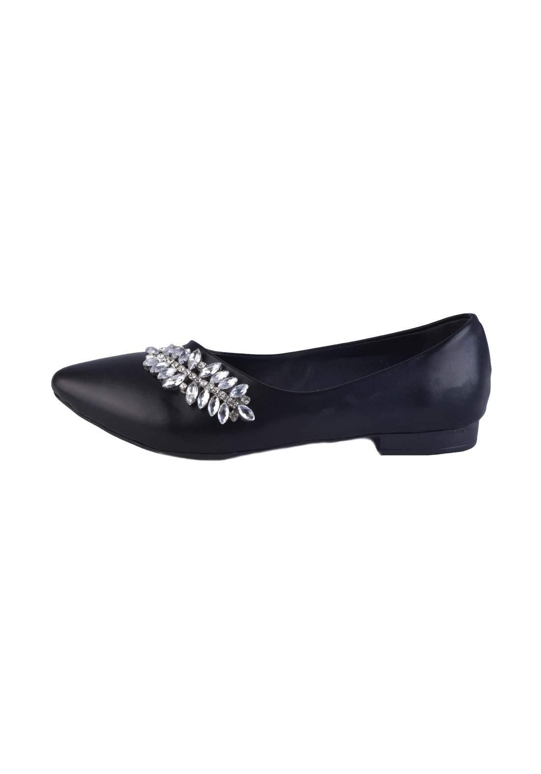 حذاء نسائي  اسود اللون