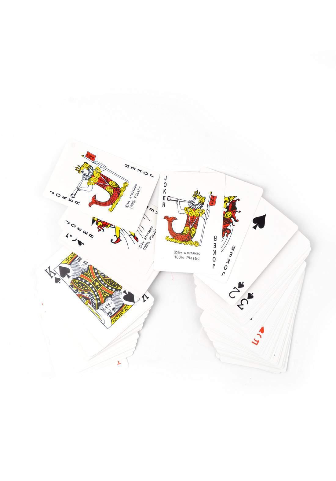 Plastic Poker Playing Cards بطاقات لعب البوكر