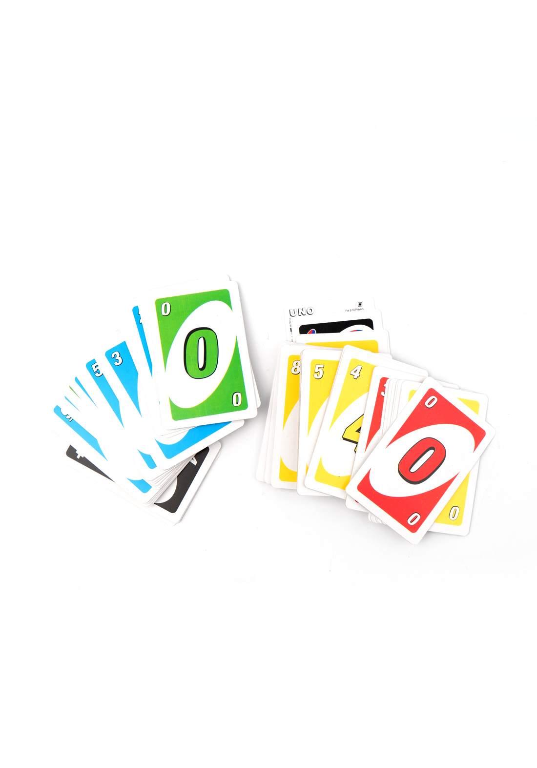 Mattel Uno Playing Card Game اونو لعب الورق