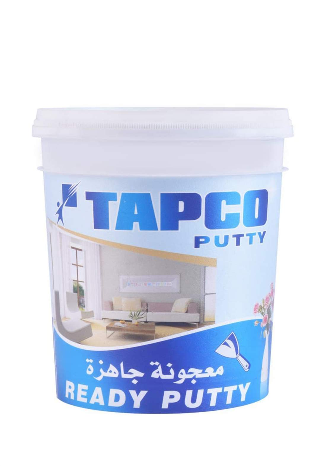 Tapco Putty   معجونة جاهزة الاستعمال لطلس الجدران الداخلية