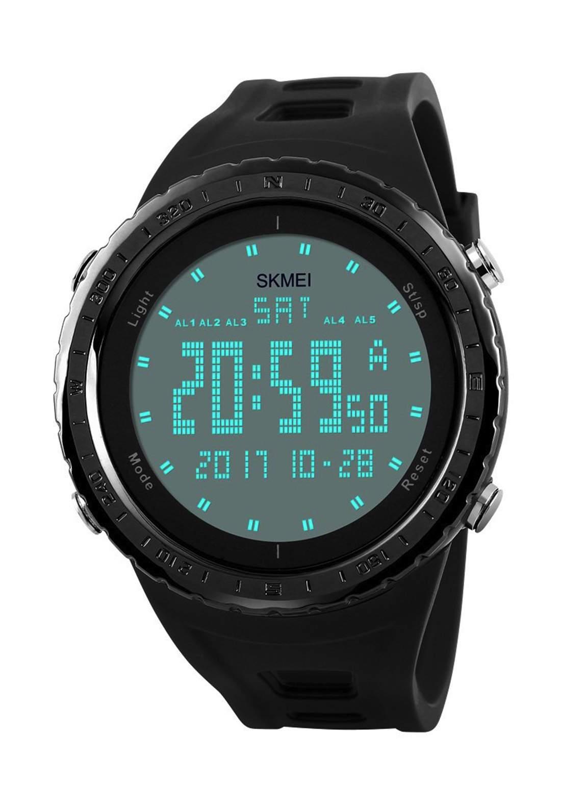 ساعة يد رجالية  سوداء اللون SKMEI 1246  رقمية