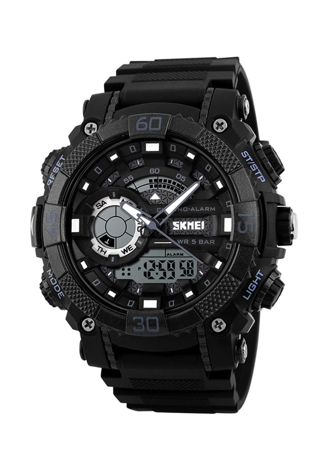 ساعة يد رجالية  سوداء اللونSKMEI 1228 رقمية