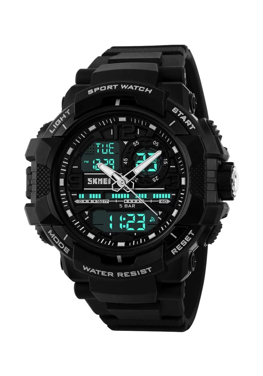 ساعة يد رجالية  سوداء اللونSKMEI 1164 رقمية