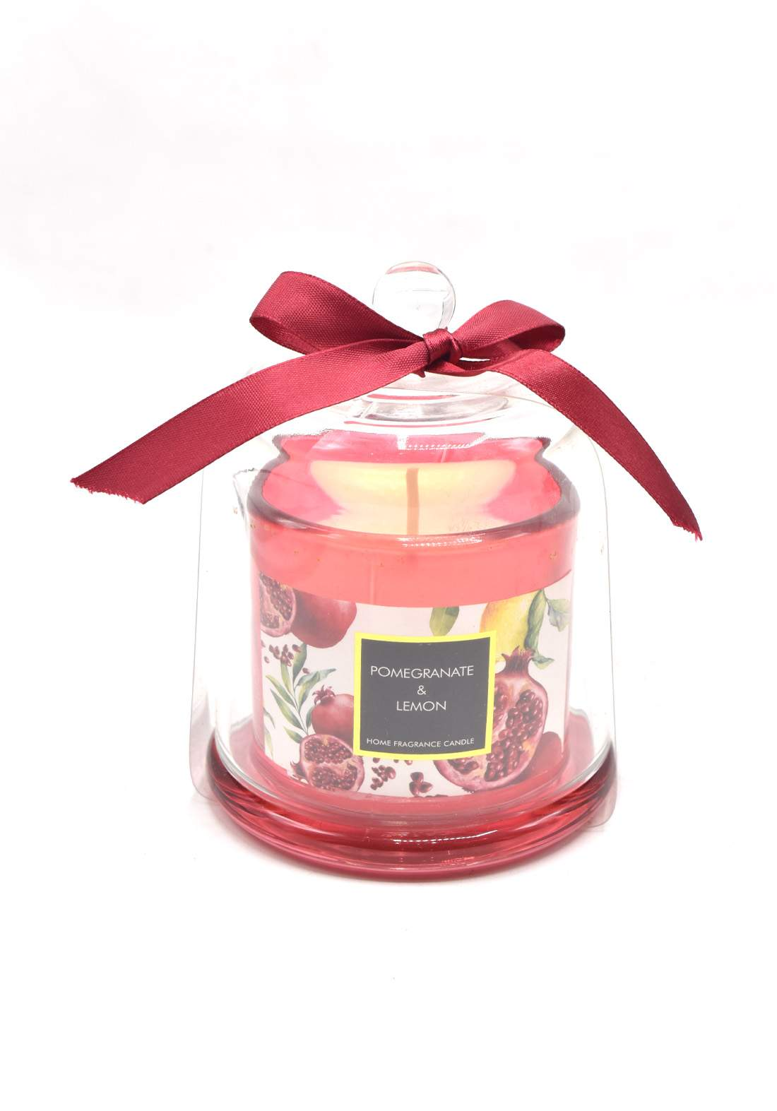 Home Fragrance Candle Pomegranate and Lemon شمعة عطرية عطر الليمون ورمان