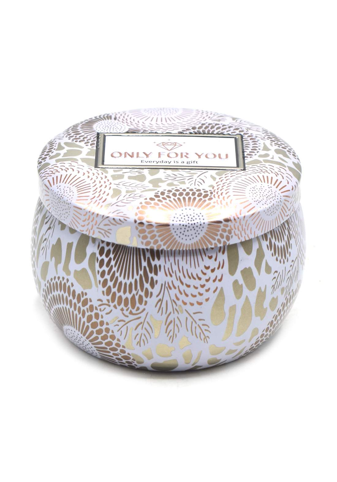 Only For you Scented Candle شمعة عطرية عطر ليمون