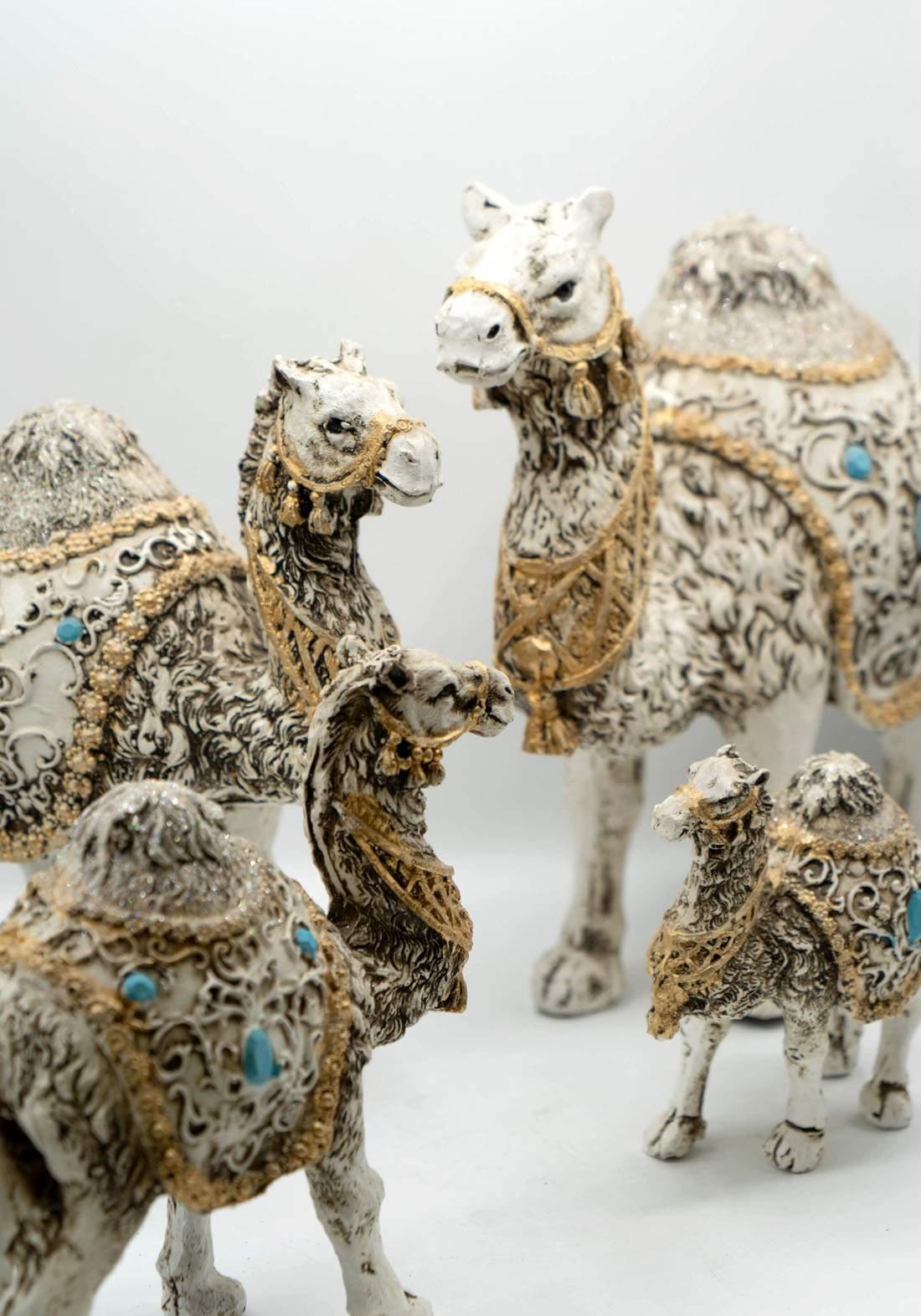 Camel Figurine Showpieces سيت جمال