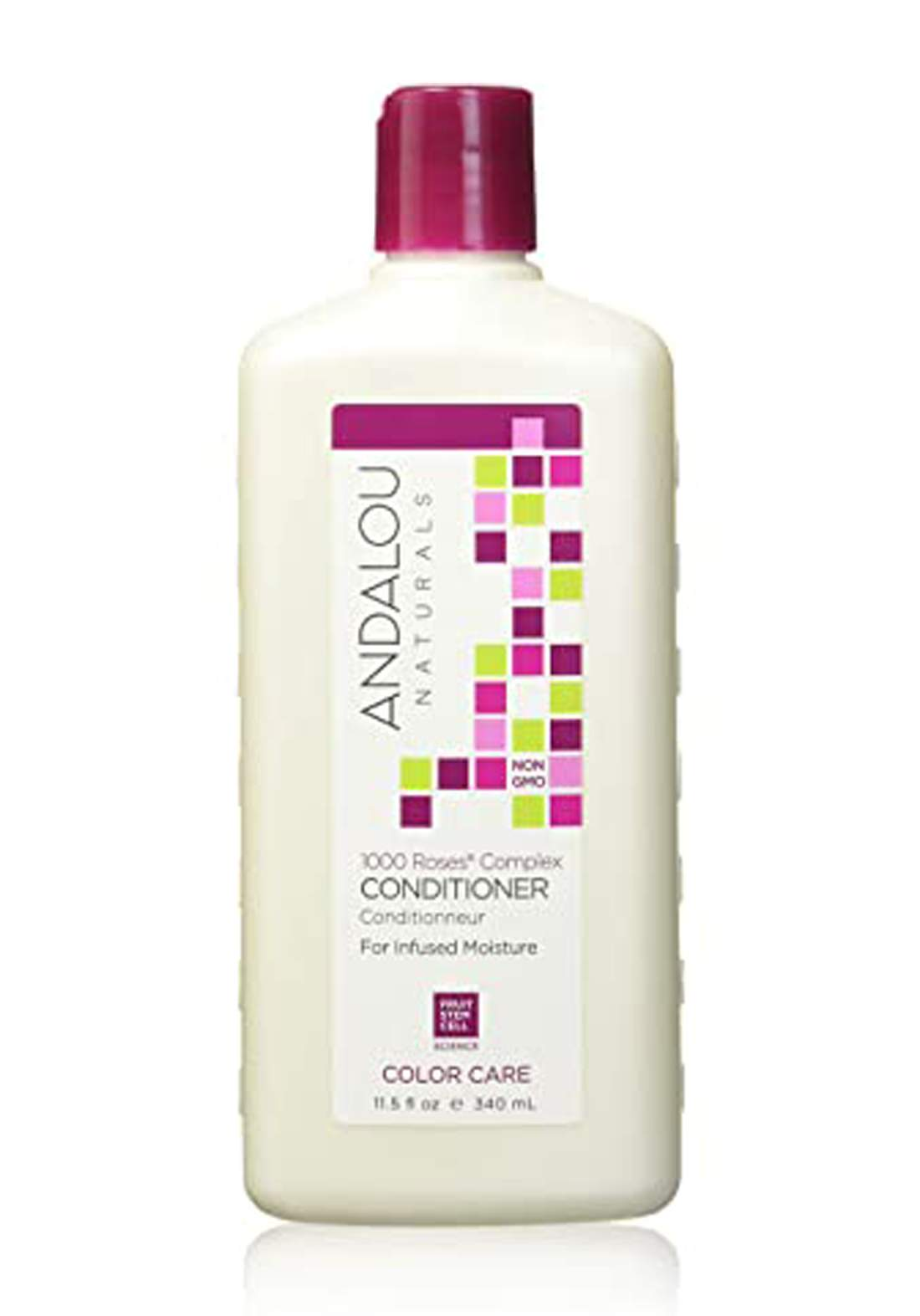 27123 Andalou Naturals 1000 Roses Complex Color Care Conditioner 340ml بلسم للشعر