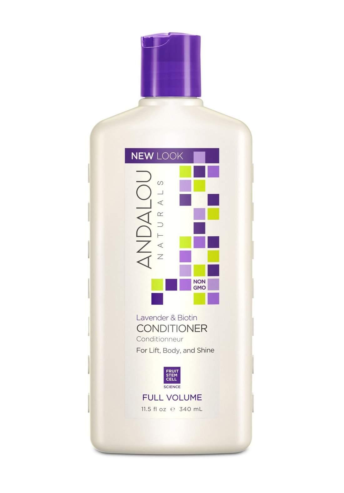 27120  Andalou Naturals Lavender Biotin Conditioner Full Volume 340ml بلسم للشعر