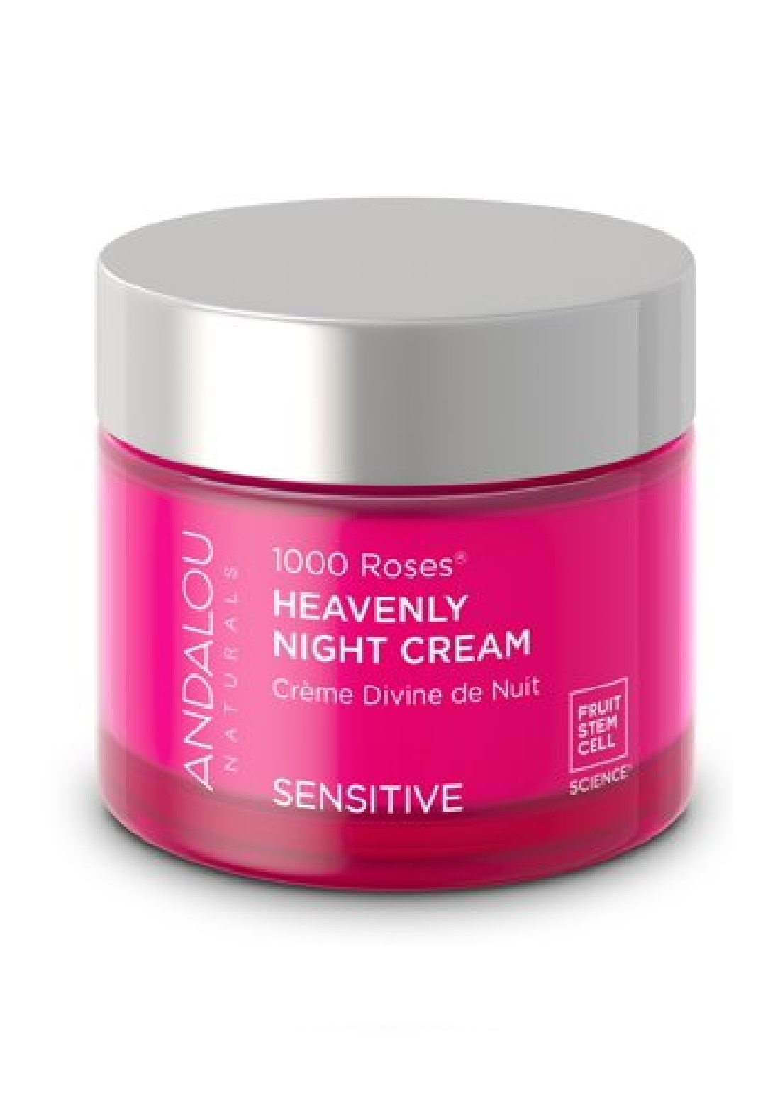 Andalou 0090 Naturals 1000 Roses Heavenly Night Cream