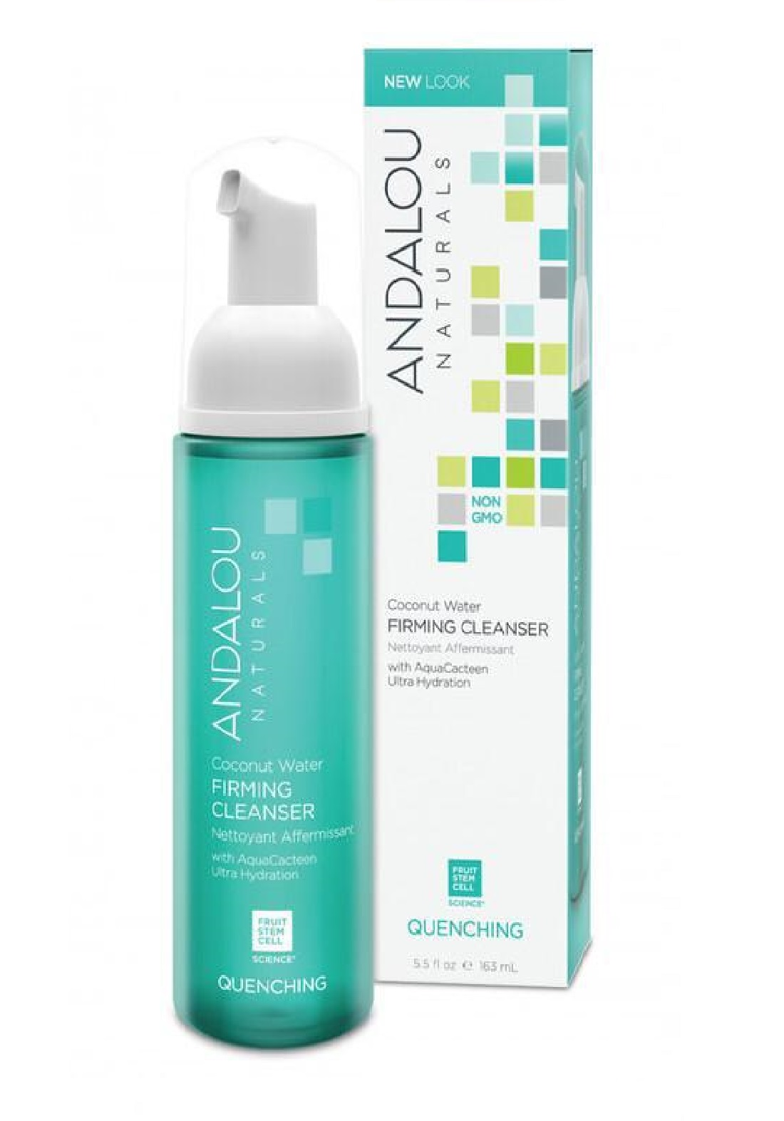 Andalou  0540 Naturals Quenching Coconut Water Firming Cleanser غسول رغوي