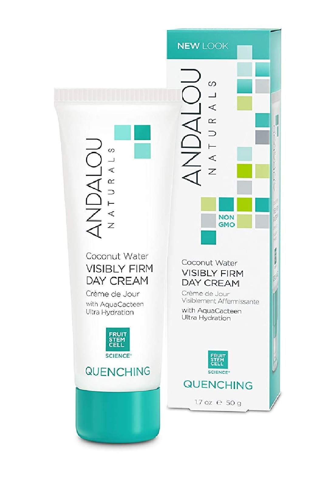 Andalou 0588 Naturals Visibly Firm Coconut Water Day Cream كريم نهاري