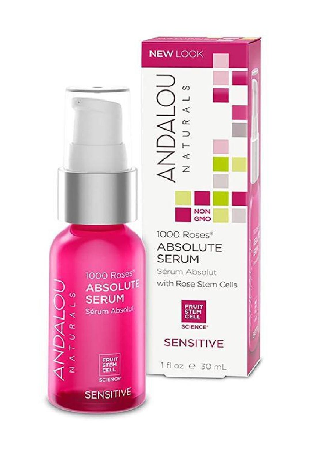 Andalou 0052 Naturals 1000 Roses Absolute Serum Sensitive سيروم للبشرة