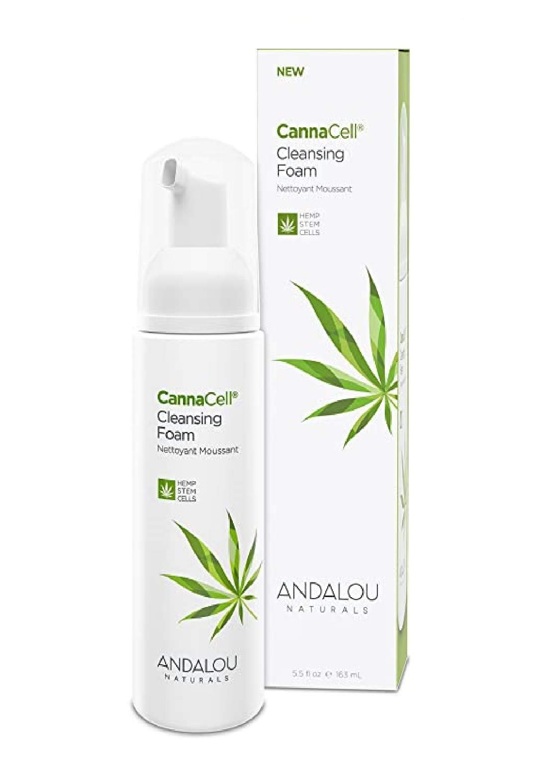 Andalou 7101Naturals CannaCell Cleansing Foam غسول رغوة للبشرة
