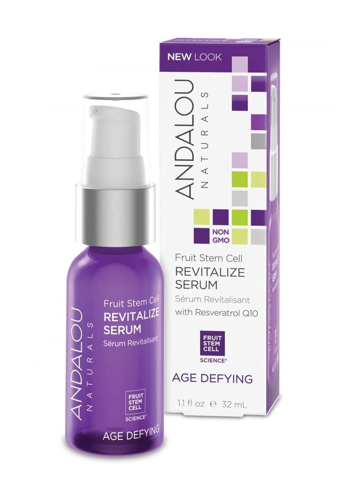 Andalou 2331 Naturals Age Defying Fruit Stem Cell Revitalise Serum 30 ml سيروم للوجه