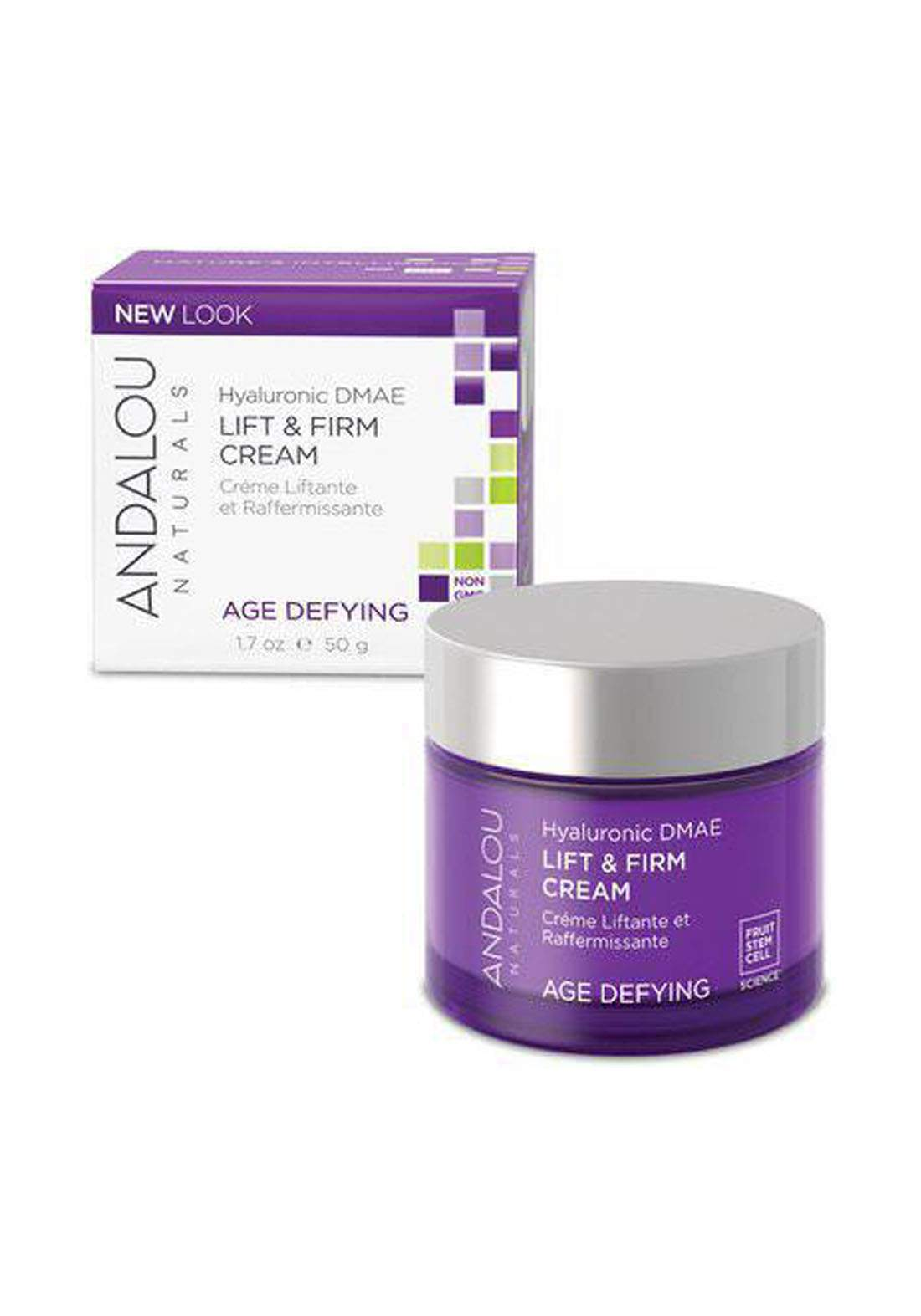 Andalou 2294 Naturals Age Defying Goji Peptide Perfecting Cream 50g كريم للوجه