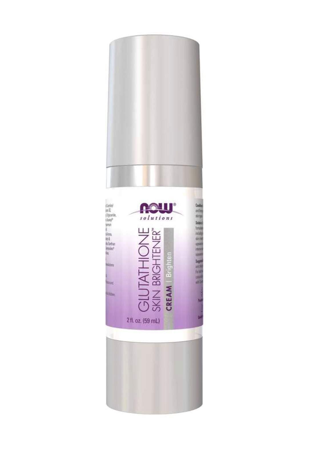 Now Solutions Glutathione Skin Brightener Cream 59ml كريم للبشرة