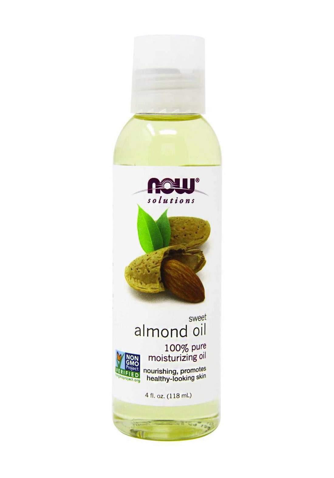 Now Solutions Almond Oil 118ml زيت اللوز الحلو