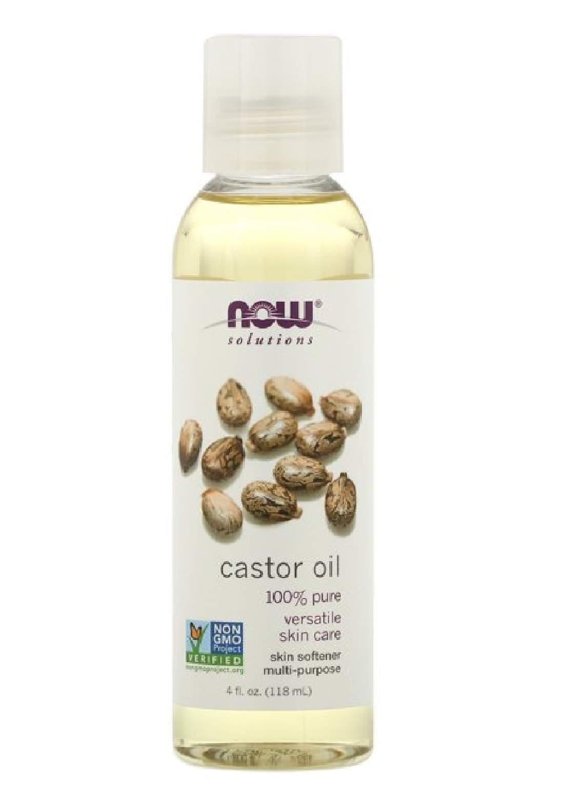 Now Solutions Castor Oil 118ml زيت الخروع