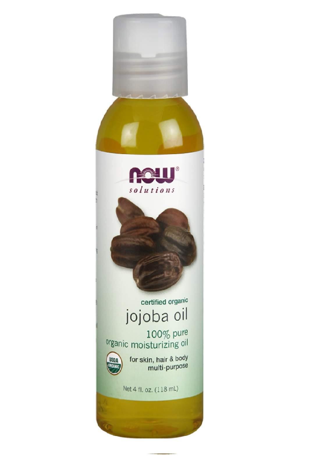 Now Solutions Foods Jojoba Oil 118ml زيت الجوجوبا