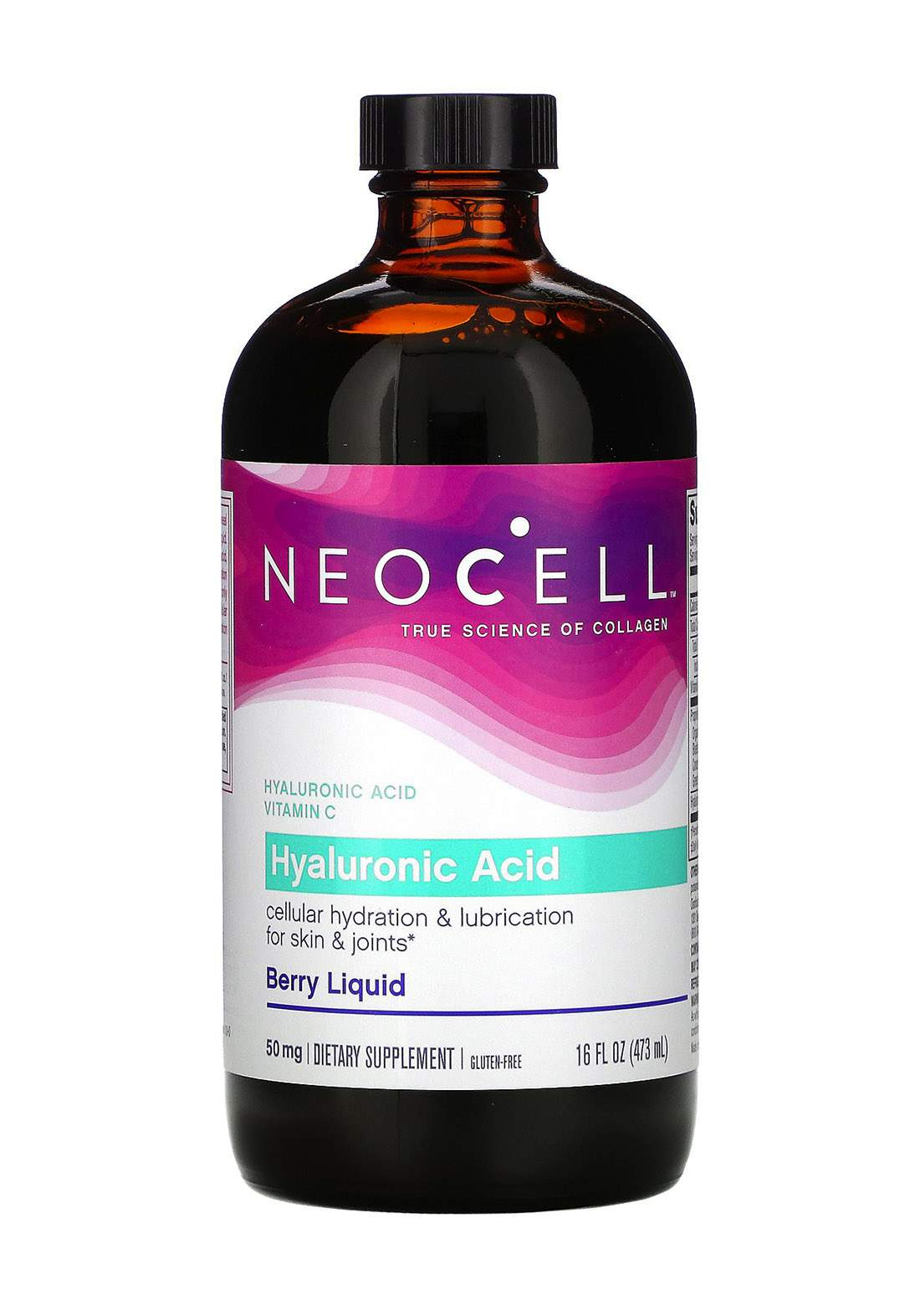 Neocell Hyaluronic Acid Berry Liquid 473ml  مكمل غذائي