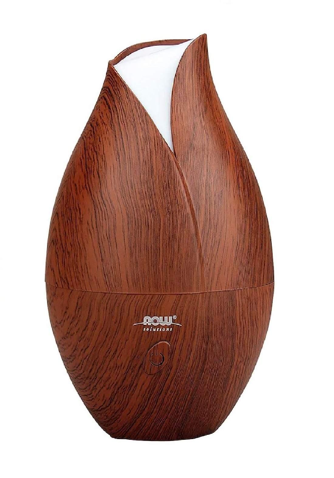 Now Foods Wood Ultrasonic Oil Diffuser 500ml  مبخرة عطرية زيتية