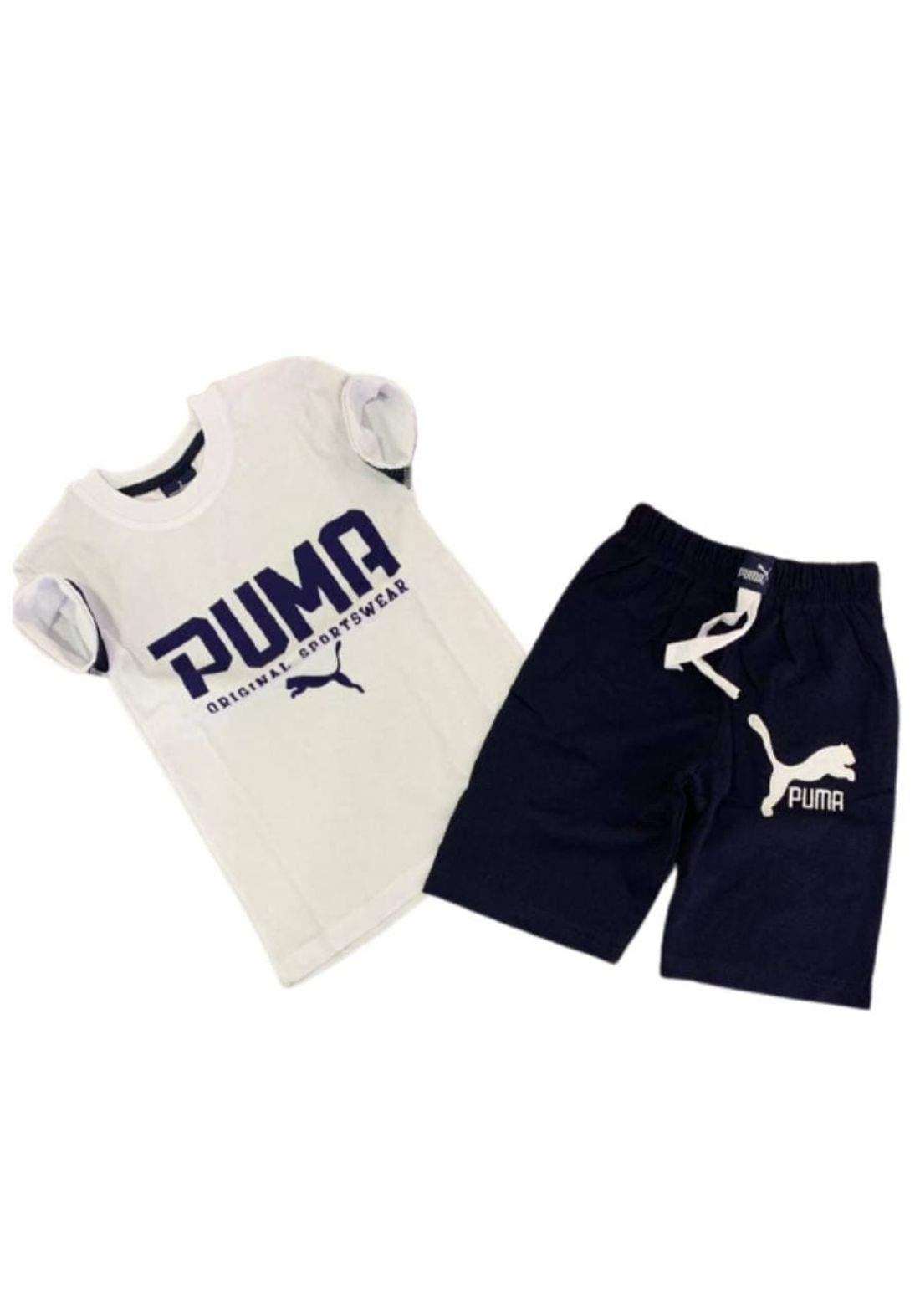 tracksuit for boys  white (t-shirt+short) ( تراكسوت ولادي  ابيض (شورت و تيشيرت