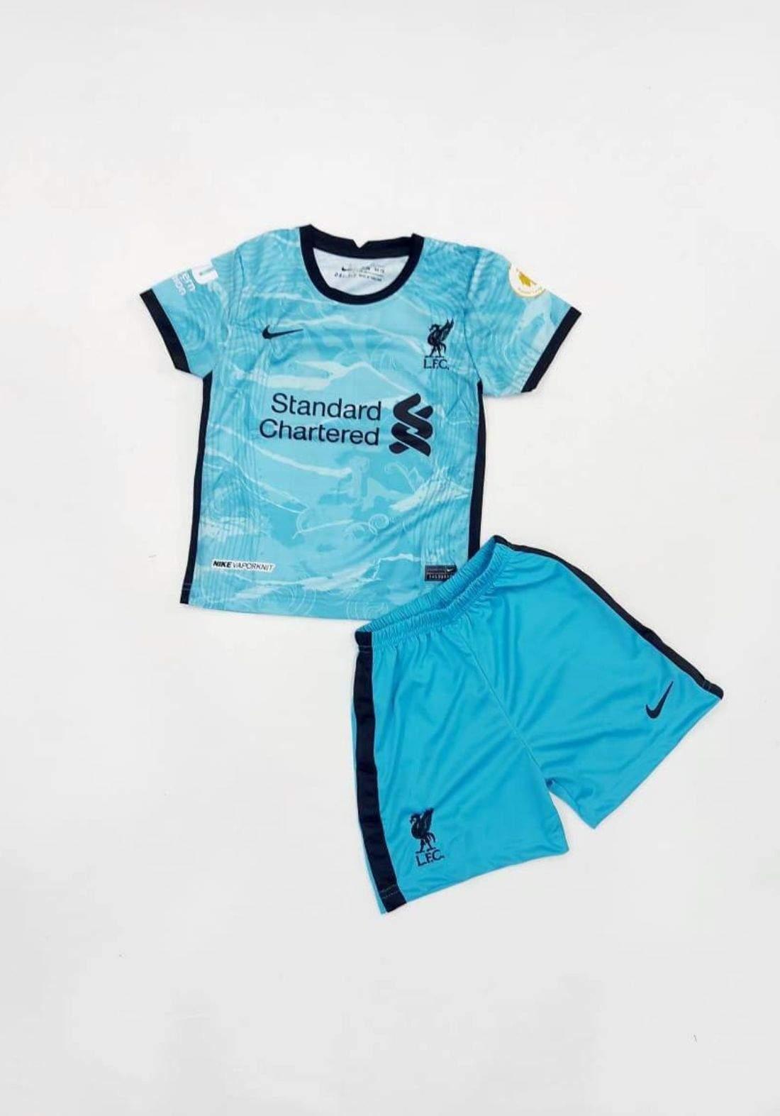 دريس ليفربول الموسم الجديد 2021 ازرق اللون