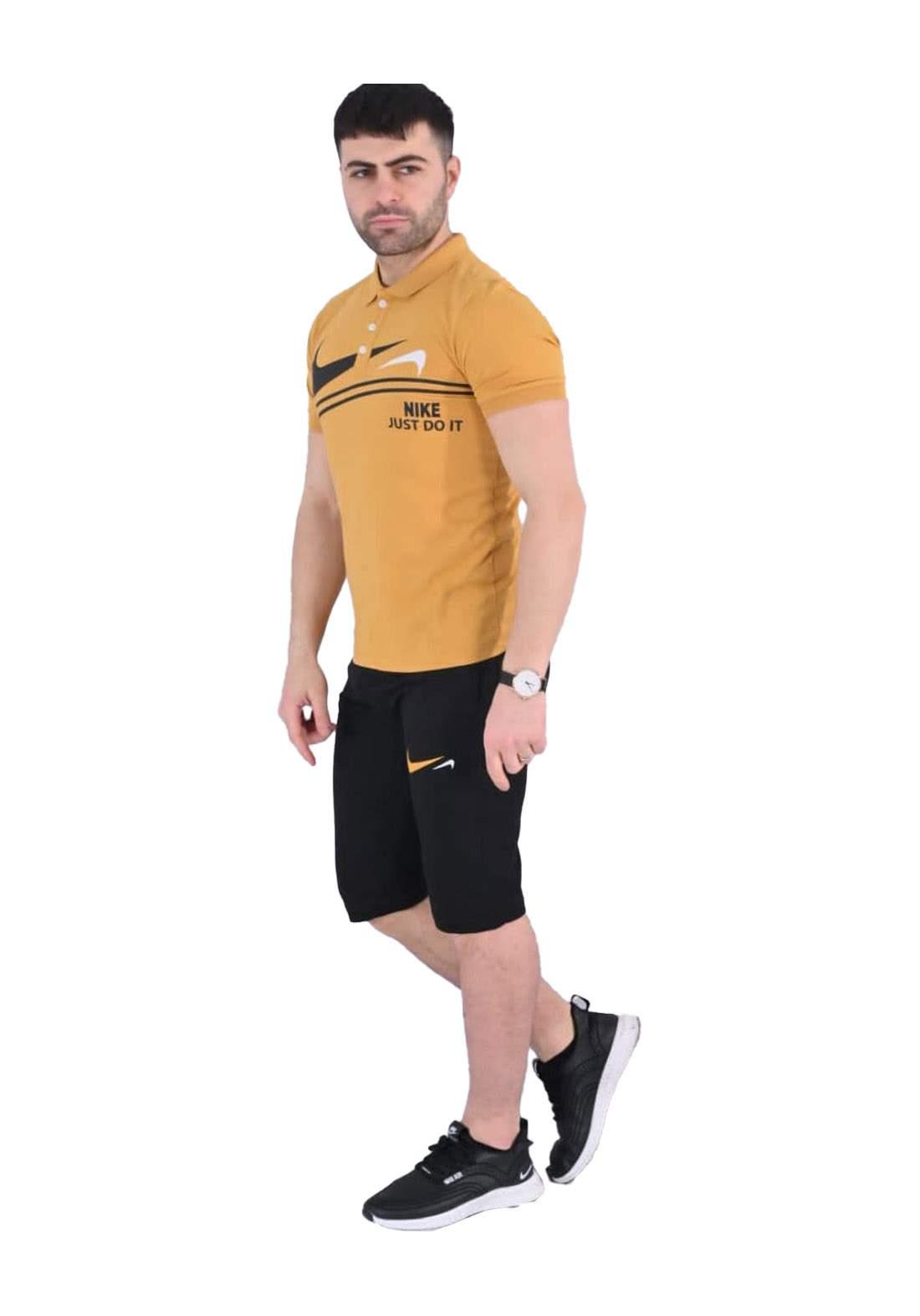 Nike Sportswear تراكسوت رجالي اصفر  اللون