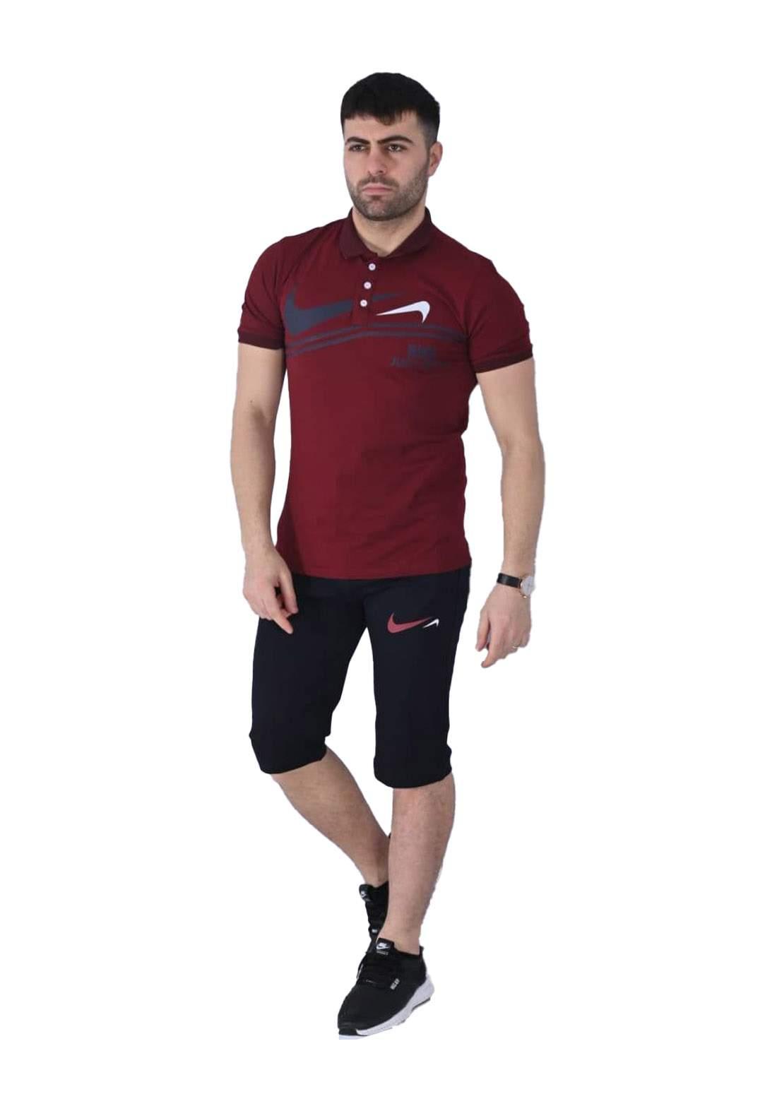 Nike Sportswear تراكسوت رجالي احمر  اللون