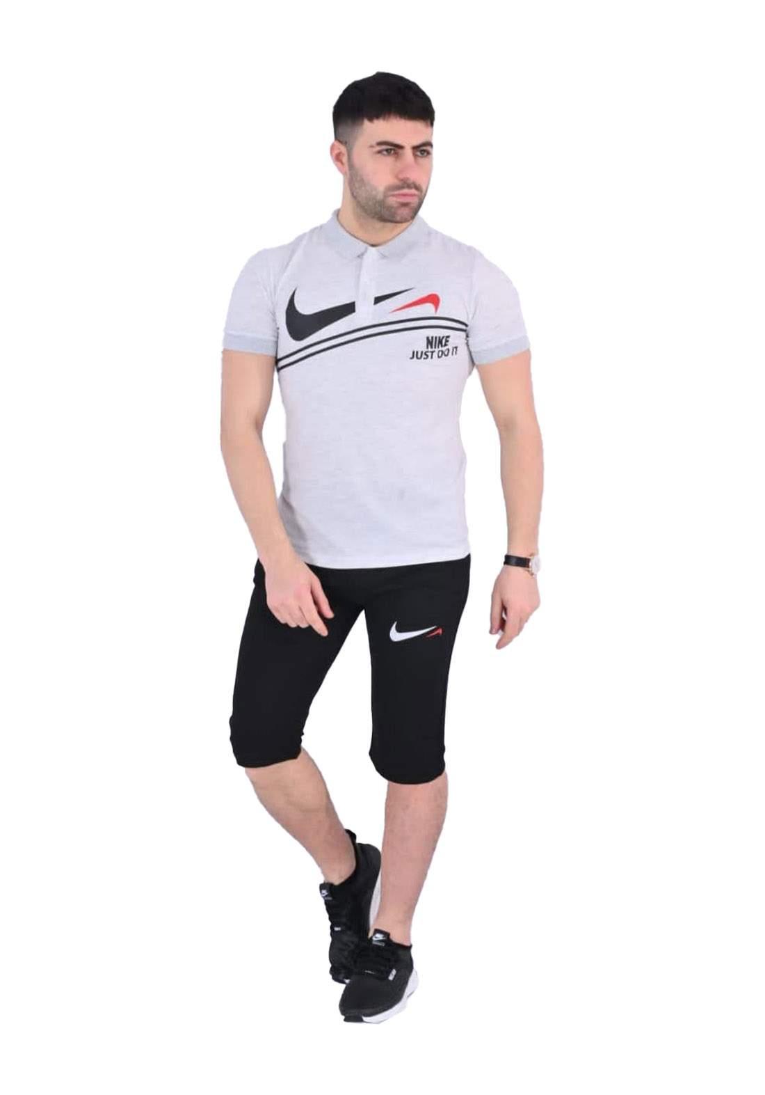 Nike Sportswear تراكسوت رجالي ابيض اللون