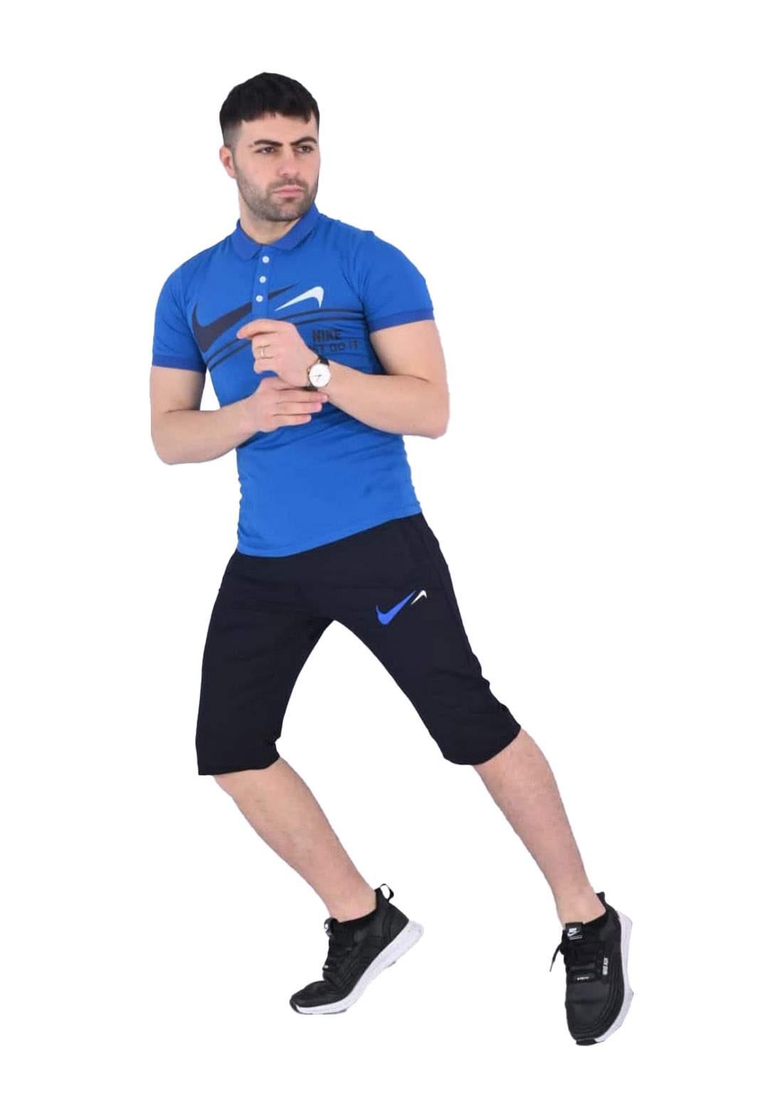 Nike Sportswear تراكسوت رجالي ازرق اللون
